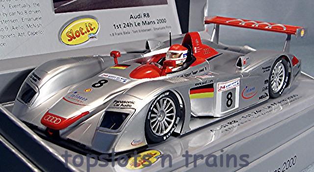 Audi R8 LMP 2000 Slot.It CW19 Winners Le Mans Cars at TopSlots