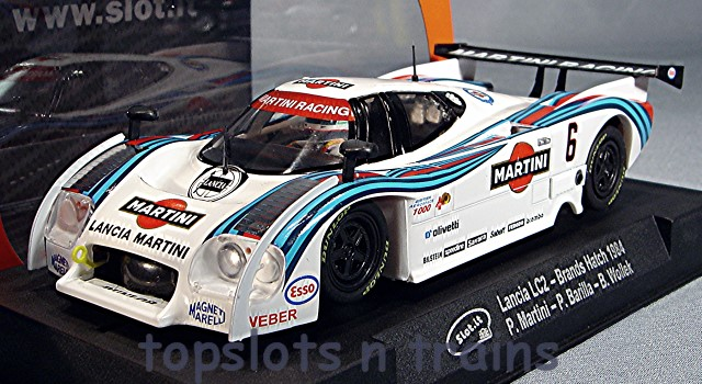 Slot.It SI-CA08F - MARTINI RACING LANCIA LC2 BRANDS HATCH 1984 CLEVEL