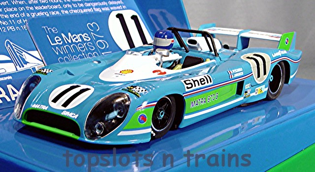 Slot.It SI-CW21 Limited Edition - MATRA SIMICA MS670B WINNERS LE MANS 1973 PESCAROLO