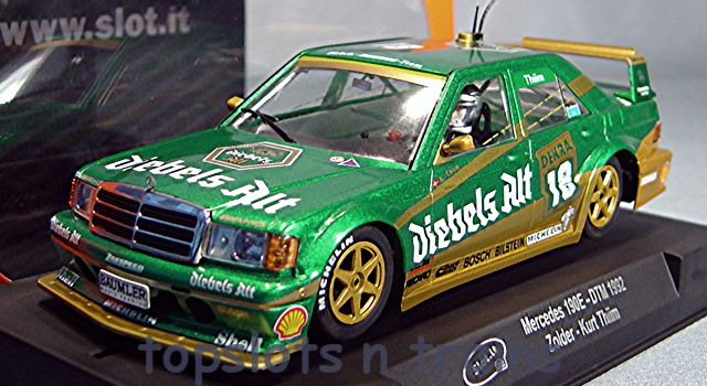 Mercedes 190E Slot It CA44A Kurt Thim Zolder DTM Cars at TopSlots