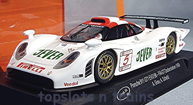 porsche 911 gt1 evo 98 slot it si ca23a fia gt slot cars at topslots. Black Bedroom Furniture Sets. Home Design Ideas