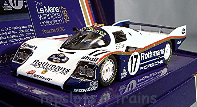 Slot.It SI-CW20 Limited Edition - ROTHMANS PORSCHE 962C LM 1987 BELL/HOLBERT/STUCK