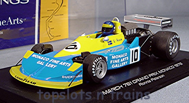 Slotwings W045-05 Limited Edition - MARCH 761 F1 GP MONACO 1976 RONNIE PETERSON LTD