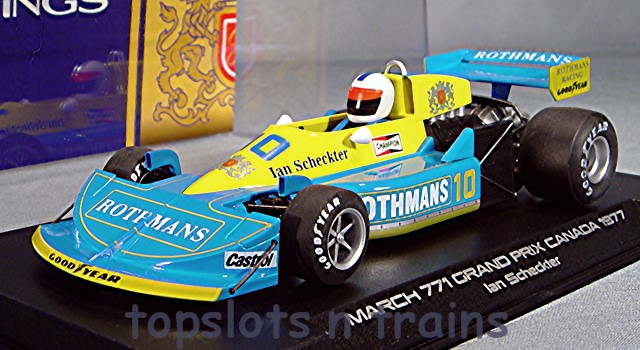 Slotwings W045-03 Limited Edition - MARCH 761 F1 GP CANADA 1977 IAN SCHECKTER LTD