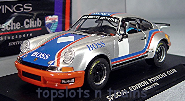 Slotwings W044-2SP Limited Edition - PORSCHE 911 BOSS SINGAPORE CLUB SPECIAL EDITION