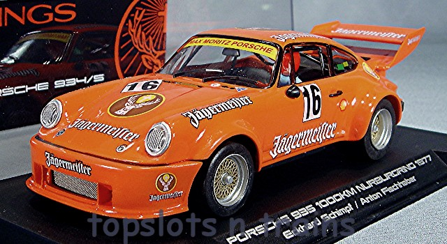 Slotwings W065-1SP Limited Edition - JAGERMEISTER PORSCHE 934/5 NURBURGRING 1977