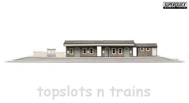 Island Platform Building Card Kit OO SuperQuick at TopSlots