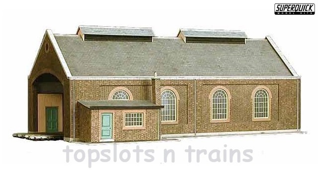 Model Railways & Trains SUPERQUICK POLICE STATION or PUBLIC