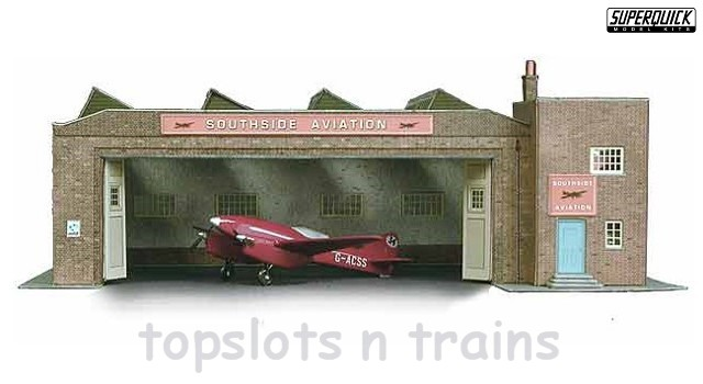 Superquick SQ-B34 OO/HO Scale Model - BUS DEPOT CARD KIT