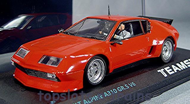 teamslot renault alpine a310 v6 12501 slot cars at topslots n trains. Black Bedroom Furniture Sets. Home Design Ideas