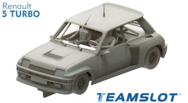 Teamslot Renault 5 Turbo Kit-005 Slot Car Kits at TopSlots n Trains