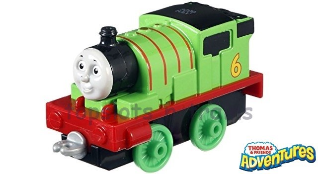 Thomas Adventures DXR80 - PERCY - A CHEEKY LITTLE SADDLE TANK ENGINE
