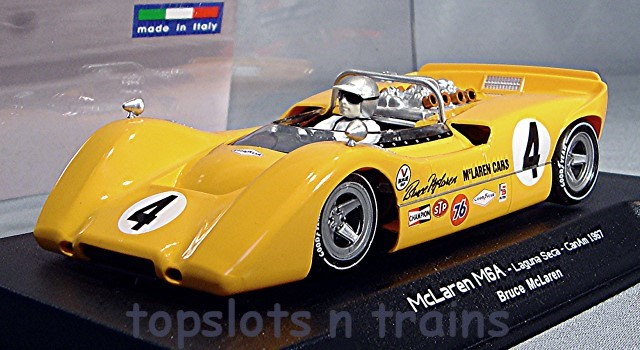 Thunder Slot CA00301-SW - MCLAREN M6 CAN AM RIVERSIDE 1967 BRUCE MCLAREN