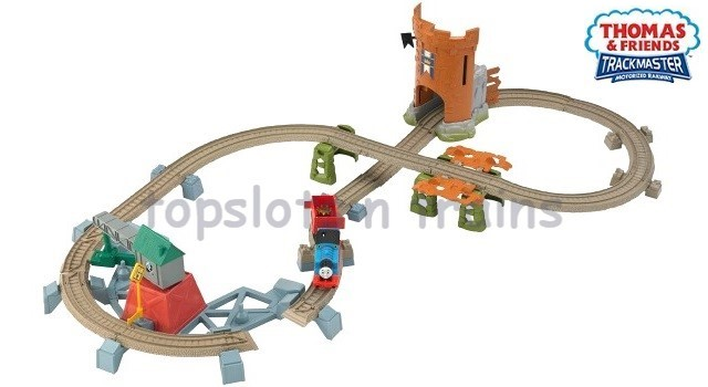 Fisher-Price TrackMaster Y3418 - THOMAS CASTLE QUEST SET - KING OF THE RAILWAY