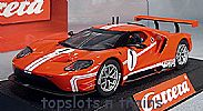 Carrera CA-27596 FORD GT RACE CAR TIME TWIST NO 1