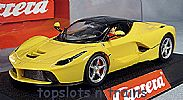 Carrera CA-27458 LA-FERRARI FERRARI NEW ENZO EVO RACING YELLOW