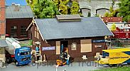 Faller 120095 OO/HO Scale Model Kit GOODS SHED