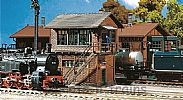 Faller 120120 OO/HO Scale Model Kit MITTELSTADT SIGNAL BOX I