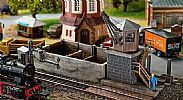 Faller 120128 OO/HO Scale Model Kit SMALL DEPOT SET - WITH DRIVE COMPONENTS