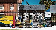 Faller 120129 OO/HO Scale Model Kit ROTATING LOADING CRANE