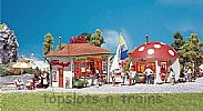 Faller 120135 OO/HO Scale Model Kit 2 X SMALL KIOSKS