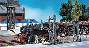 Faller 120137 OO/HO Scale Model Kit 2 X ARTICULATED WATER CRANES