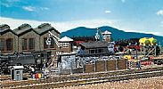 Faller 120147 OO/HO Scale Model Kit COALING STAGE - WITH PIVOTING CRANE