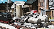 Faller 120157 OO/HO Scale Model Kit DIESEL FUEL FACILITY