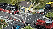 Faller 120171 OO/HO Scale Model Kit PROTECTED LEVEL CROSSING