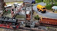 Faller 120242 OO/HO Scale Model Kit HANDLING FACILITY - WITH MOTOR