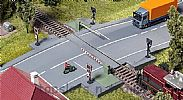 Faller 120244 OO/HO Scale Model Kit MODERN LEVEL CROSSING - WITH DRIVE PARTS