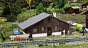 Faller 120245 OO/HO Scale Model Kit LANGWIES FREIGHT/GOODS SHED - LASER CUT
