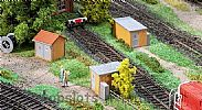 Faller 120266 OO/HO Scale Model Kit 3 X BRICK SUBSTATIONS