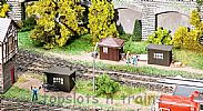 Faller 120272 OO/HO Scale Model Kit ENGINE DRIVER SHELTERS