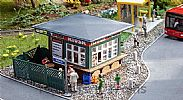 Faller 120303 OO/HO Scale Model Kit KIOSK – FOR DRINKS AND SNACKS