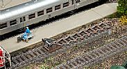 Faller 120322 OO/HO Scale Model Kit 2 X BUFFER STOPS WITH SHEARING BRAKES