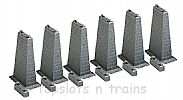 Faller 120473 OO/HO Scale Model Kit 6 PIERS FOR - 140470/140471/140474/140475/140476