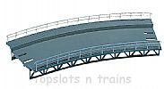 Faller 120475 OO/HO Scale Model Kit CURVED TRACK BED - RADIUS = 360 mm