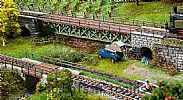 Faller 120501 OO/HO Scale Model Kit 3 X NARROW GAUGE BRIDGES