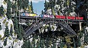 Faller 120535 OO/HO Scale Model Kit BIETSCHTAL BRIDGE - 2-TRACK