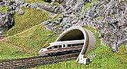 Faller 120562 OO/HO Scale Model Kit ICE / ROAD TUNNEL PORTAL