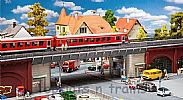Faller 120581 OO/HO Scale Model Kit URBAN RAILWAY BRIDGE