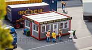 Faller 130130 OO/HO Scale Model Kit MODULAR BUILDING - MOBILE SNACK BAR V