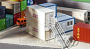 Faller 130133 OO/HO Scale Model Kit 2-STOREY PORTABLE CABIN CONTAINER SET V