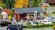 Faller 130155 OO/HO Scale Model Kit DRINKS STORE - WITH OUTDOOR STORAGE AREA