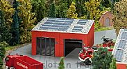 Faller 130161 OO/HO Scale Model Kit MODERN FIRE STATION VEHICLE / STORAGE HALL