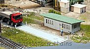Faller 130172 OO/HO Scale Model Kit WEIGHBRIDGE WITH OFFICE BUILDING