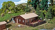 Faller 130181 OO/HO Scale Model Kit WORKERS HOUSE / BARRACKS