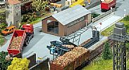 Faller 130184 OO/HO Scale Model Kit BEET LOADING WITH STORAGE SHED