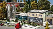Faller 130198 OO/HO Scale Model Kit DAIRY WITH SILOS